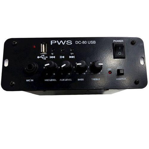 Amplificador PWS DC 80 USB