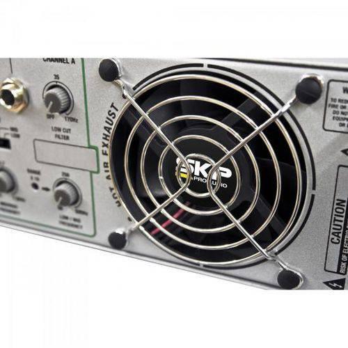 "Amplificador ""AB"" 1200W MAXG-1220X Prata SKP"