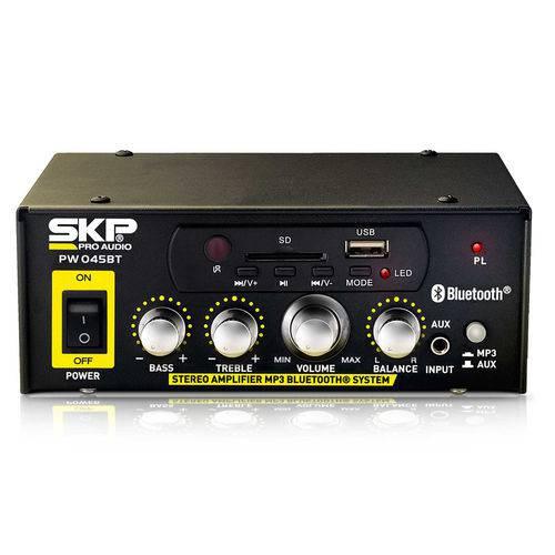 Amplificador Receiver SKP PW-045BT 45 Watts RMS - AP0318