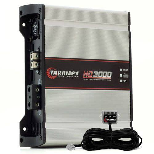 Amplificador Taramps Hd 3000 1 Canal 3000w Rms 1 Ohm