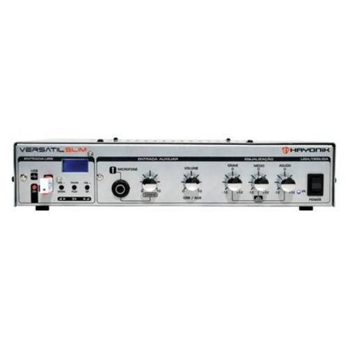Amplificador Versátil Slim 70V, 50W, 44489 - HAYONIK