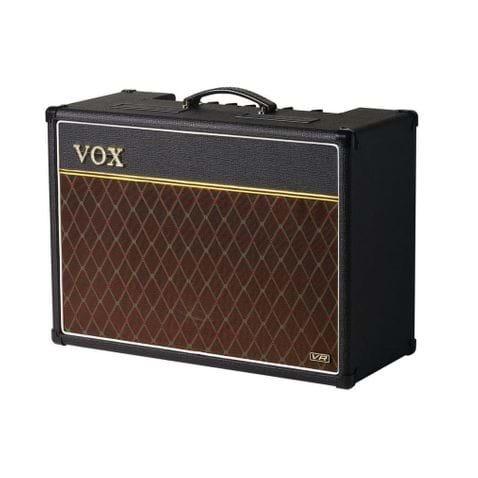 Amplificador Vox Combo Ac- 15vr. - Bl - Black.
