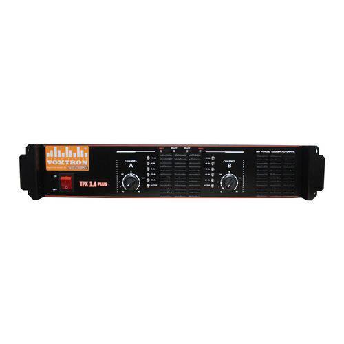 Amplificador Voxtron By Techaudio VOX TPX 1.4 2 Canais 1400W 4 Ohms