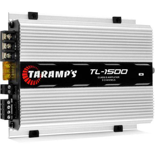AmplificadorTL 1500 2 Ohms 390 Wrms - Taramps