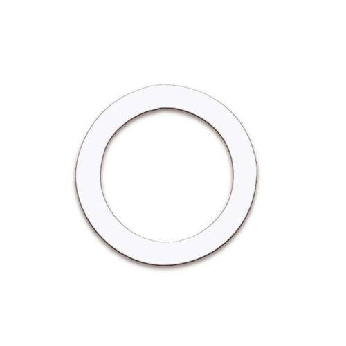 Anel Remo Dynamo 5.1/2 Pol Branco P/ Corte Circular na Pele Reposta de Bumbo Dm-0005-01