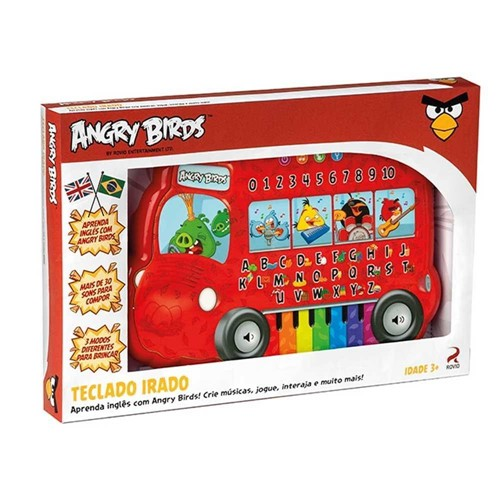 Angry Birds Teclado Irado - Fun Divirta-Se