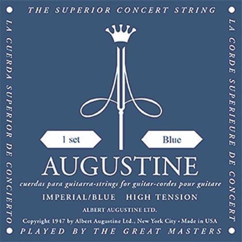 Augustine Jogo de Cordas de Nylon Imperial Blue