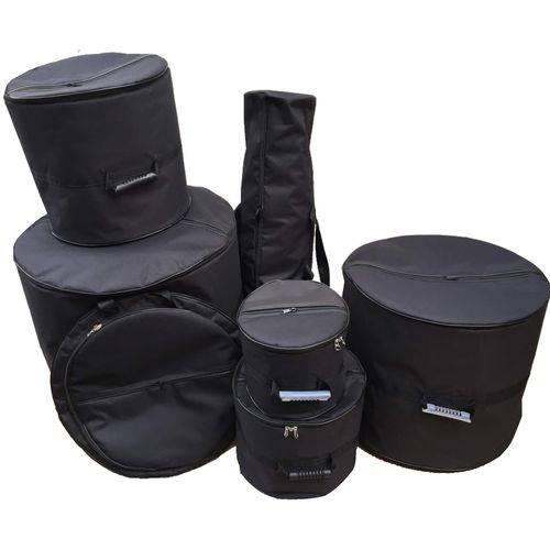 Bag Bateria Fusion Reduzida 7 Peças Protect Drum