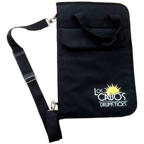 Bag de Baquetas Los Cabos Lcdlsb Large Stick Bag Extra Grande para Mais de 15 Pares e Bolso Pra Pad