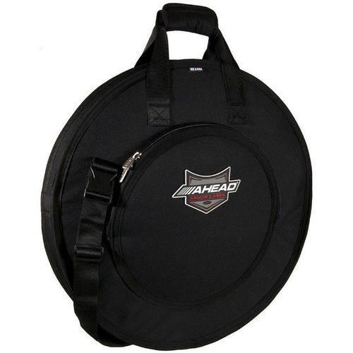 Bag de Pratos Ahead Aa6021 Armor Deluxe Cymbal Bag para Pratos Até 22¨