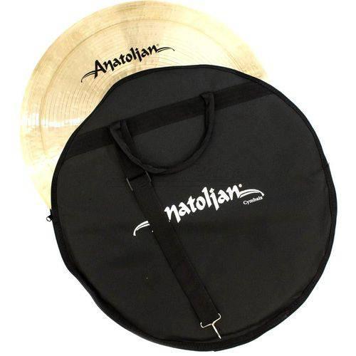 Bag de Pratos Anatolian Cymbals Standard Cymbal Bag com Alça de Ombro e Pratos Até 22¨