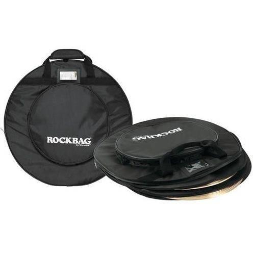 Bag de Pratos Rockbag Rb 22440b para Pratos Até 22¨ com Diversas Divisões