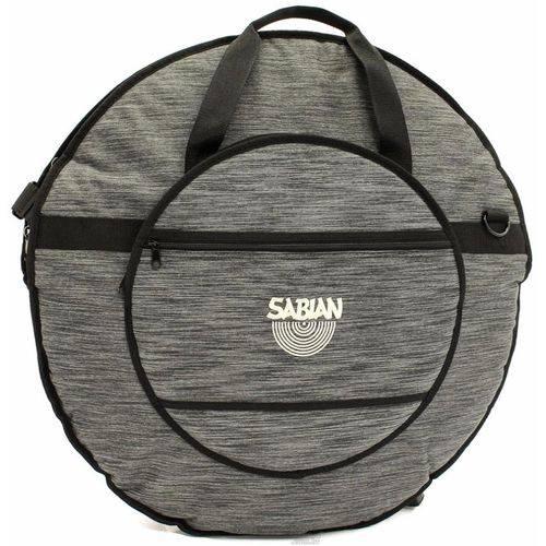 Bag de Pratos Sabian Classic Heathered Gray C24hbk Alto Luxo Compatível com Pratos Até 24¨