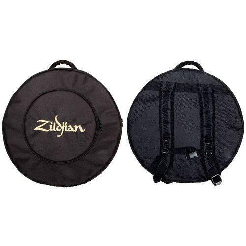 Bag de Pratos Zildjian Backpack Zcb22gig Top para Pratos Até 22¨ com Alça de Mochila Padrão Top