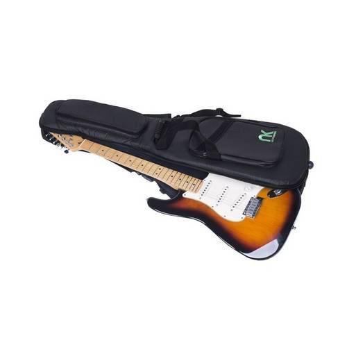 Bag Guitarra Couro Reconstituído Preto - Newkeepers