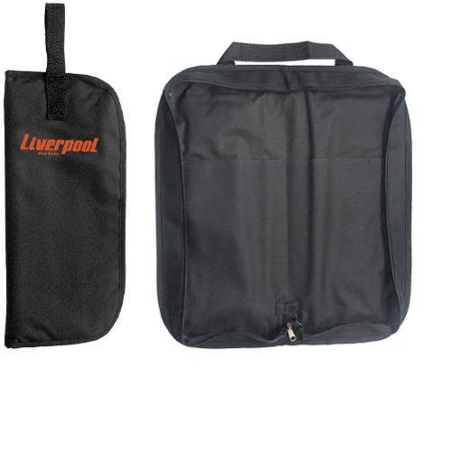 Bag para Baquetas Simples Preto Liverpool Bag 03p