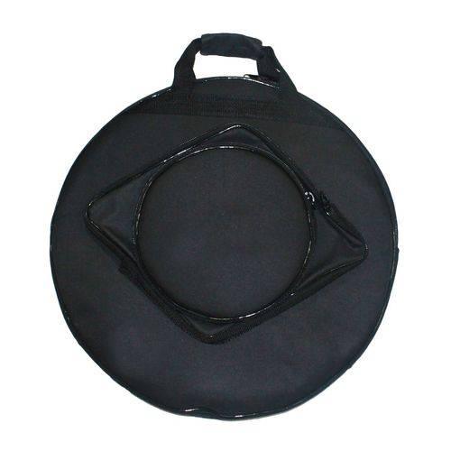 "Bag para Prato de Bateria 20"" - Prato Hi-Hat - Prato de Ataque"