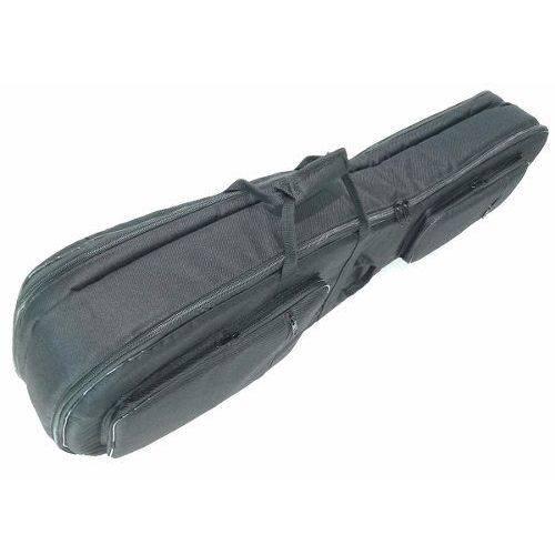 Bag Soft Case Duplo para Violão Folk e Guitarra Preto