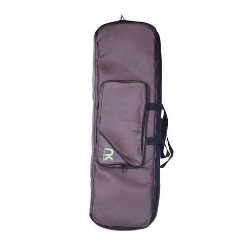 Bag Teclado 58 Compacto Couro Reconstituído Marrom - Newkeepers