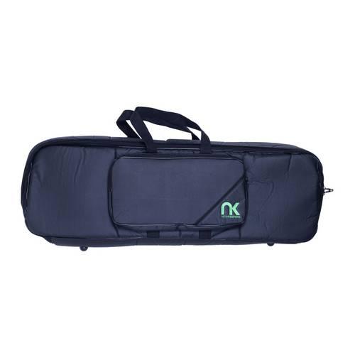Bag Teclado 7/8 Newkeepers Couro Reconstituído - Preta