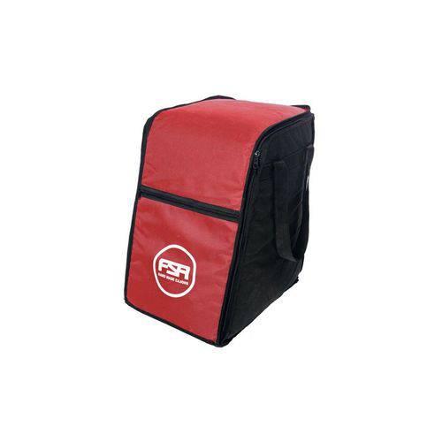 Bag Vermelha para Cajon Standard FSA FBS02