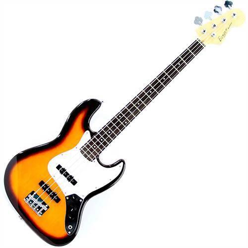 Baixo 4 Cordas Jazz Bass Sunburst BBJ-E81-TS - Benson