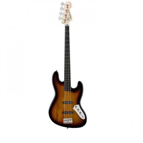 Baixo Squier Vintage Modified J.Bass Fretles - 500 Sunburst