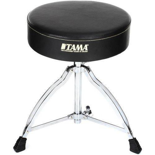 Banco Tama Ht130 Standard Drum Throne Redondo e Largo com Pernas Duplas