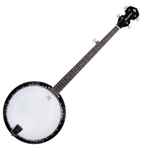 Banjo Americano 5 Cordas Wb50 Mahogany Pele Remo Strinberg