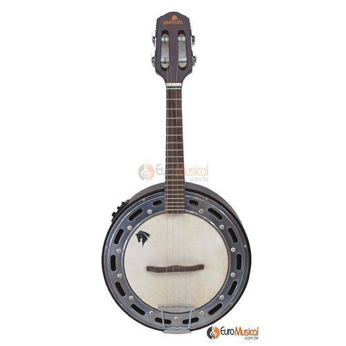 Banjo Marquês Eletrico Natural Preto Baj87