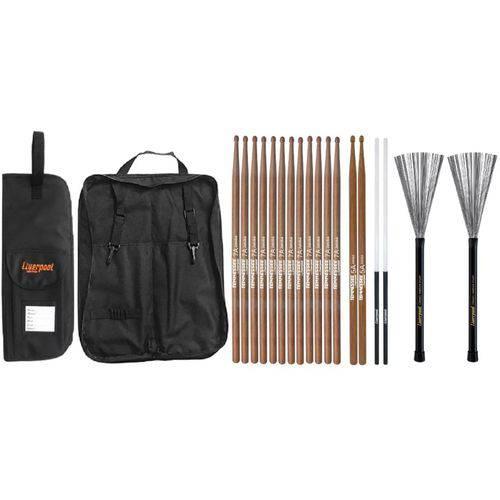 Baqueta 7A 5A Vassourinha e Bag 01P LIVERPOOL