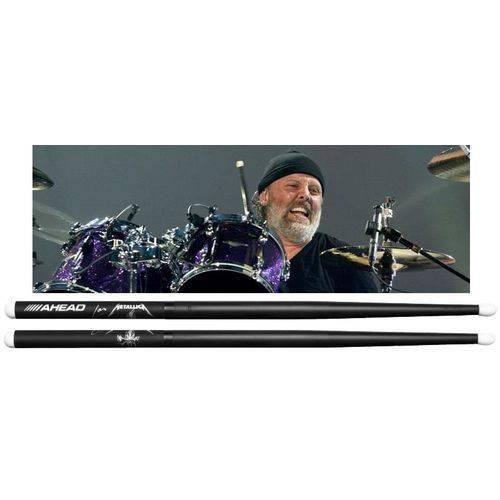 Baqueta Ahead Drumsticks Signature Lars Ulrich ¨scary Guy¨ Lu-sg (padrão 5b) Poliuretano