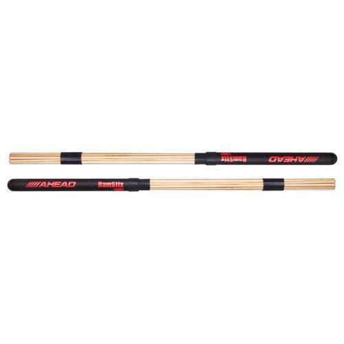Baqueta Rod Ahead Drumsticks Bamstix Light Bsl Cerdas de Bambu para Tocar com Volume Mais Controlado