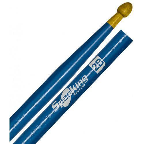 Baqueta Spanking Linha Colorida 2b Clássica Azul (4050az)