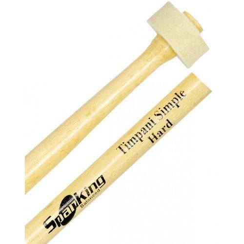 Baqueta Tipo Mallets Spanking Linha Natural Timpani Simple Hard (4112)