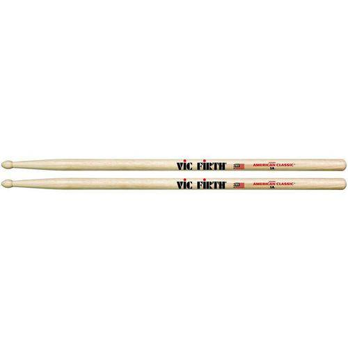 Baqueta Vic Firth American Classic Hickory 1a (padrão 5a Longa) 7335