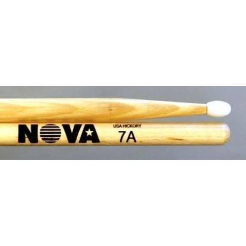 Baqueta Vic Firth Nova Series Nylon ¨padrão 7a¨ com Ponta de Nylon (6096)