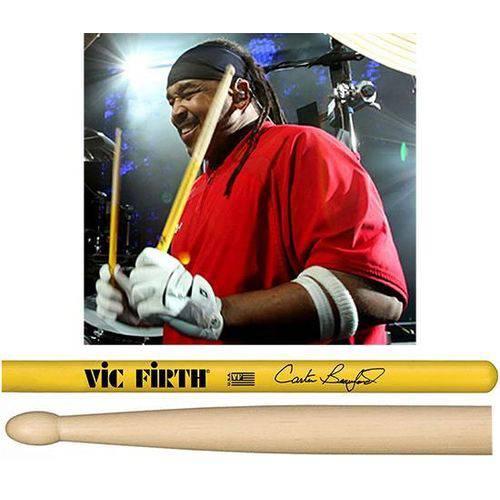 Baqueta Vic Firth Signature Carter Beauford ¨padrão 5b¨ (10263)