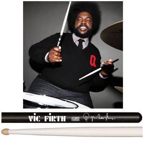 Baqueta Vic Firth Signature Questlove ¨padrão 7a¨ Comprida (10267)