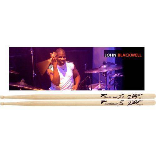 Baqueta Zildjian Signature John Blackwell Asbl (padrão 5a / 5b) com Ponta Pequena (liquidação)