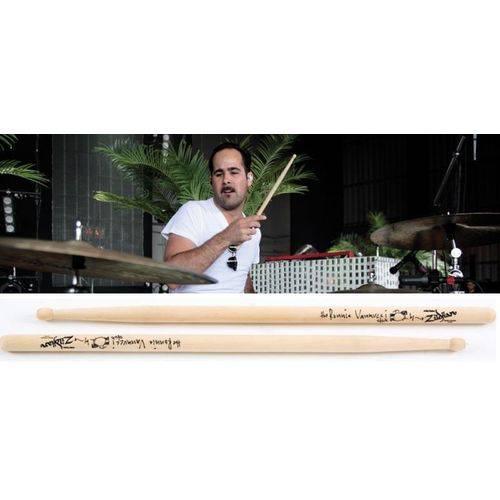 Baqueta Zildjian Signature Ronnie Vanucci The Killers Asrv (padrão 5b / 2b) em Maple Encorpada Leve