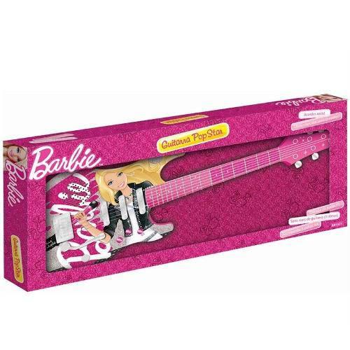 Barbie-Guitarra Infantil Luxo Mt-505a B