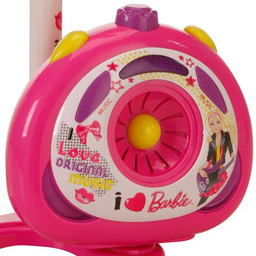 Barbie - Microfone Karaoke - Monte Líbano