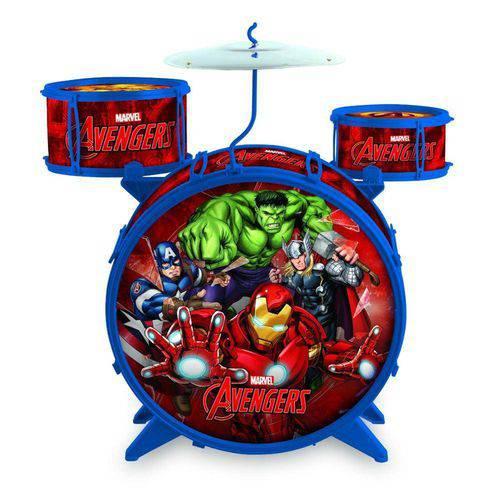 Bateria Infantil Musical os Vingadores - Toyng