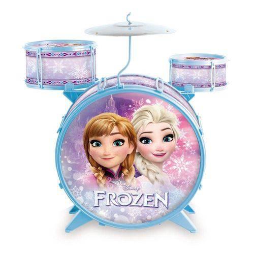 Bateria Acústica Infantil Frozen - Toyng