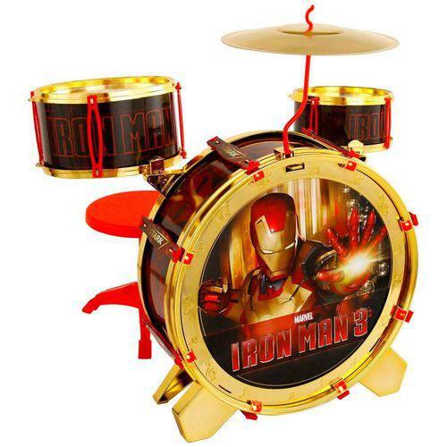 Bateria Acústica Iron Man 3