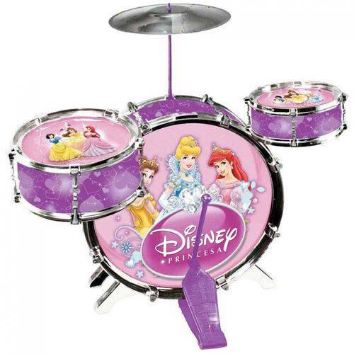 Bateria Acústica Princesas Disney - Yellow