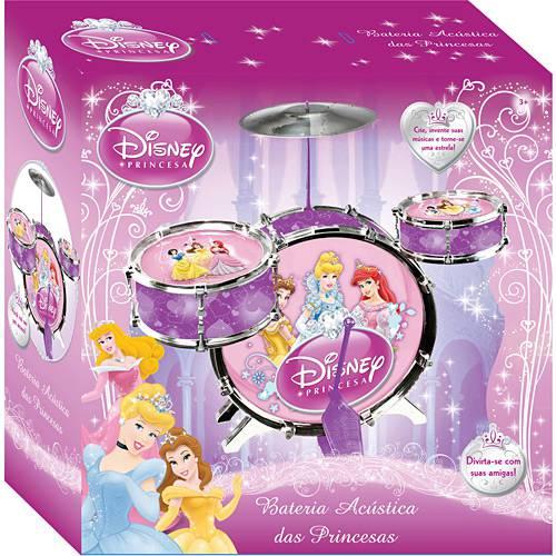 Bateria Acústica Princesas - Yellow