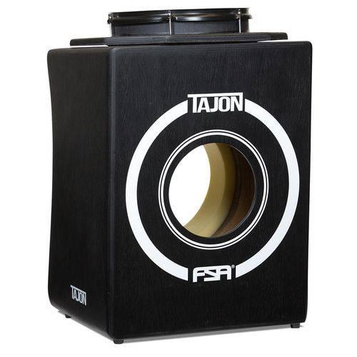 Bateria Cajón Fsa Tajon Flip Taj31 Preto Mini Bateria Cajón Kit Compacto com Caixa Móvel