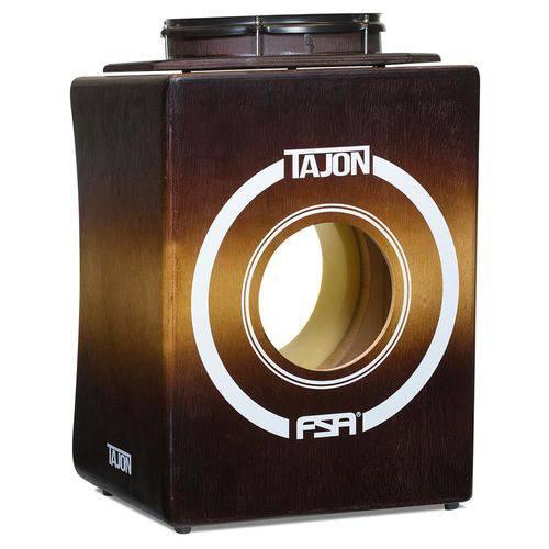 Bateria Cajón Fsa Tajon Flip Taj34 Sunburst Mini Bateria Cajón Kit Compacto com Caixa Móvel